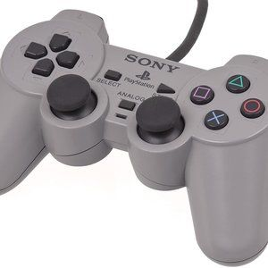 Dual Shock Controller in Gray - PlayStation